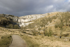 Malham Cove Yorkshire Dales Stock Photo