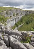 Malham Cove, Yorkshire. Dales National Park, England Stock Photo