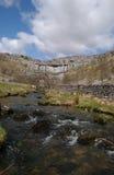 Malham il Tarn fotografie stock libere da diritti