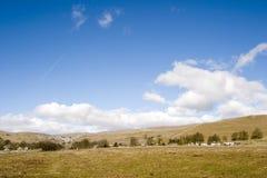 malham yorkshire Англии 9005 участков земли Стоковая Фотография RF