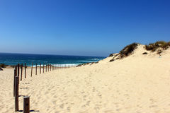 Malhao beach, Alentejo, Portugal Stock Images