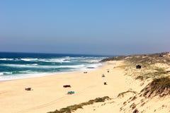 Malhao beach, Alentejo, Portugal. Malhao beach at Alentejo, Portugal Royalty Free Stock Images
