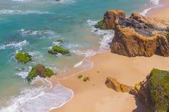 Malhao beach,  Vila Nova de Milfontes. Alentejo, Portugal Royalty Free Stock Photo