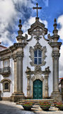 Malheiras chapel in Viana do Castelo Royalty Free Stock Photography