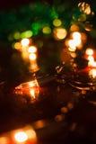 Mali dekoracyjni światła zdjęcia royalty free