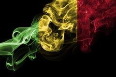 Mali dymu flaga Zdjęcia Royalty Free
