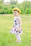 mali dziewczyna spacery Fotografia Stock