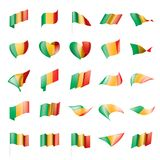 Mali Flag Vector Imágenes de archivo libres de regalías