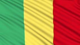 Mali-Flagge. vektor abbildung
