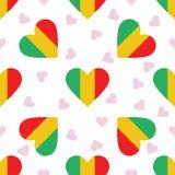 Mali Independence Day Seamless Pattern Fotografia Stock Libera da Diritti