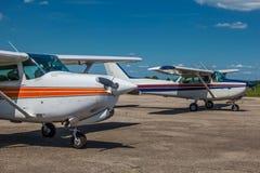 Mali intymni samoloty zdjęcie stock