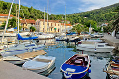Mali Iz adriatic safe harbor Royalty Free Stock Photography