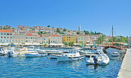 Mali Losinj, île de Losinj, Mer Adriatique, Croatie Photo stock
