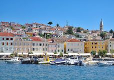 Mali Losinj,adriatic Sea,Kvarner Gulf,Croatia. Village of Mali Losinj on Losinj at adriatic Sea,Kvarner Gulf,Croatia Stock Photos
