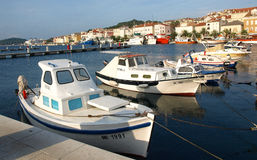 Mali Losinj. Coastal town of mali losinj on the island of cres in the kvarner gulfnn Stock Image