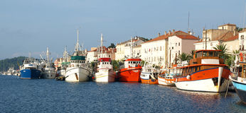 Mali Losinj. Coastal town of mali losinj on the island of cres in the kvarner gulfnn Stock Photo
