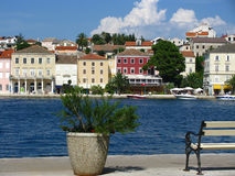 Mali Losinj, Croatia. Coastal town Mali Losinj on island Losinj, Croatia Stock Photos
