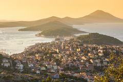 Mali Losinj, Croatia. Panoramic view of Mali Losinj, Croatia Royalty Free Stock Photos