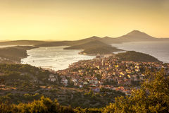 Mali Losinj, Croatia. Panoramic view of Mali Losinj, Croatia Stock Image