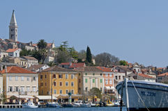 Mali losinj Croatia. The town of Mali Losinj Croatia on a summer day Stock Images