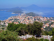 Mali Losinj, Croatia. View over the island Mali Losinj, Croatia Royalty Free Stock Photography