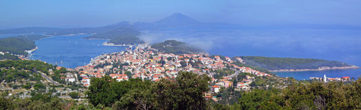 Mali Losinj, Croatia. View over the island Mali Losinj, Croatia Royalty Free Stock Image