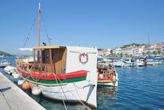Mali Losinj, ilha de Losinj, mar de adriático, Croácia Fotos de Stock Royalty Free