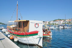 Mali Losinj, isla de Losinj, mar adriático, Croacia Fotos de archivo libres de regalías