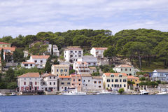 Mali losinj island. Mali losinj on a warm sunny day Stock Photos