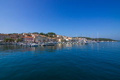 Mali Losinj on the island of Losinj, august 20. 2016 Stock Photo