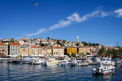 Mali Losinj on Island of Losinj Stock Photography