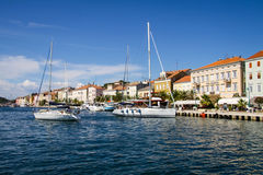 Mali Losinj on Island of Losinj Stock Images