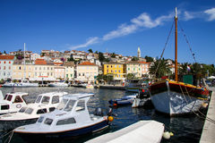 Mali Losinj on Island of Losinj. Dalmatia, Croatia Royalty Free Stock Images
