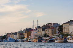 Mali Losinj port. Boats in Mali Losinj port Royalty Free Stock Images