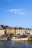 Mali Losinj port. Boats in Mali Losinj port Royalty Free Stock Photos
