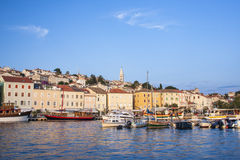 Mali Losinj port. Boats in Mali Losinj port Royalty Free Stock Photography