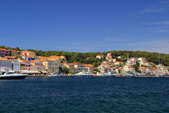 Mali Losinj. Town in Croatia Stock Photos