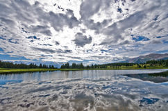 Mali Molas Jeziorni w San Juan górach w Kolorado Zdjęcia Stock