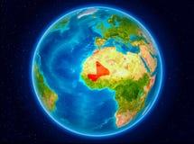 Mali på jord Fotografering för Bildbyråer
