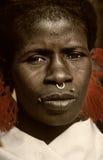 Mali, Peul p i Fulani, afryka zachodnia - Dogon wiosek borowinowi domy, Fotografia Royalty Free