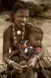Mali, Peul p i Fulani, afryka zachodnia - Dogon wiosek borowinowi domy, Obraz Royalty Free
