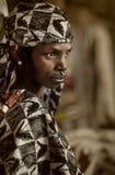 Mali, Peul p i Fulani, afryka zachodnia - Dogon wiosek borowinowi domy, Zdjęcia Stock