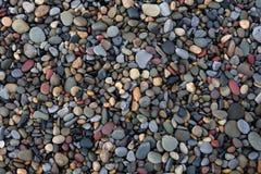 Mali plażowi otoczaki Obraz Stock