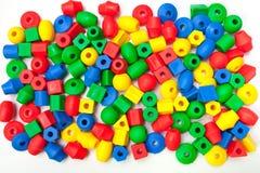 mali plastikowi szczegóły dziecka ` s mozaika Obraz Royalty Free