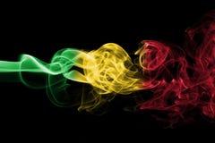 Mali rökflagga Fotografering för Bildbyråer