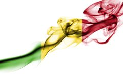 Mali rökflagga Royaltyfri Bild