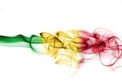 Mali smoke flag Stock Images