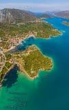 Mali Ston, Dubrovnik archipelago Stock Photography