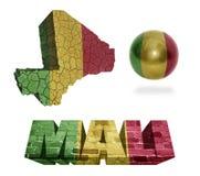 Mali Symbols Immagine Stock Libera da Diritti