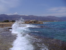 Malia在克利特,希腊 免版税库存图片